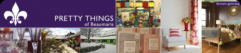 Pretty Things, Beauamris - INTERIOR DESIGN, FABRICS & WALLPAPER, FURNITURE, LIGHTING & GIFT SHOP