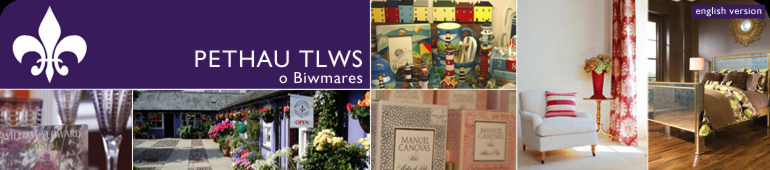 Pethau Tlws o Fiwmares / Pretty Things, Beauamris - INTERIOR DESIGN, FABRICS & WALLPAPER, FURNITURE, LIGHTING & GIFT SHOP